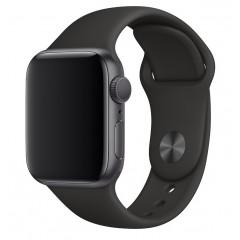 Ремешок силиконовый для Apple Watch 42/44mm (черный)
