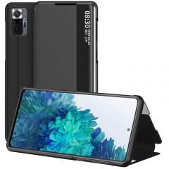 Чехол-книжка Smart View Cover Xiaomi Redmi Note 10 Pro (черный)
