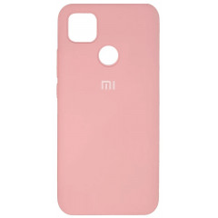 Чехол Silicone Case Xiaomi Redmi 9C (розовый)