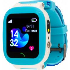 Детские умные часы AmiGo GO004 Splashproof Camera LED (Blue)