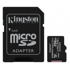Карта памяти Kingston micro SDXC UHS-I 100R A1 256gb (10cl) + адаптер
