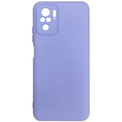 Чехол Silicone Case Xiaomi Redmi Note 10/ Note 10S (лавандовый)