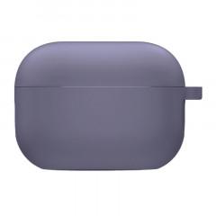 Чехол для AirPods Pro с микрофиброй (лавандовый серый)
