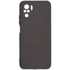 Чехол Silicone Case Xiaomi Redmi Note 10/ Note 10S (черный)