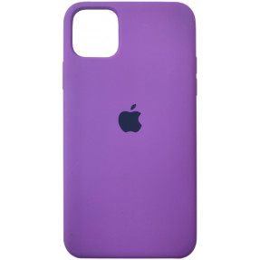 Чехол Silicone Case Iphone 11 Pro Max (сиреневый)