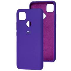 Чехол Silicone Case Xiaomi Redmi 9C (фиолетовый)