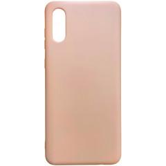 Чехол Silicone Case Samsung A02 (персиковый)