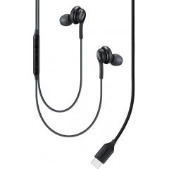 Вакуумные наушники-гарнитура Samsung IC100 Type-C (Black) EO-IC100BBEGRU