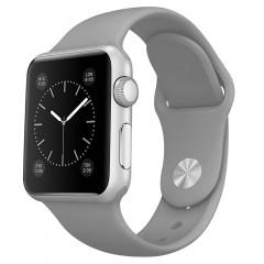 Ремешок силиконовый для Apple Watch 42/44mm (серый)