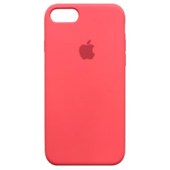 Чехол Silicone Case iPhone 7/8/SE 2020 (арбузный)