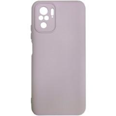 Чехол Silicone Case Xiaomi Redmi Note 10/ Note 10S (бежевый)