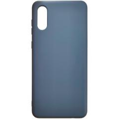 Чехол Silicone Case Samsung A02 (синий)