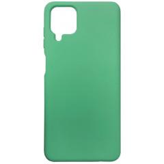 Чехол Silicone Case Samsung A12 (зеленый)