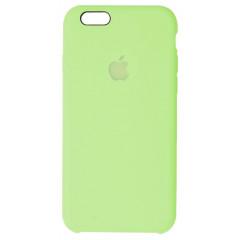 Чехол Silicone Case iPhone 6 Plus/6s Plus (салатовый)
