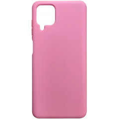 Чехол Silicone Case Samsung A12 (розовый)