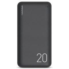 Power Bank MakeFuture 20000mAh 12W (Black) MPB-201BK