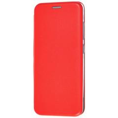 Книга Premium Samsung Galaxy A12 (красный)