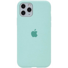 Чехол Silicone Case Iphone 11 Pro Max (бирюзовый)