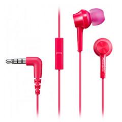 Вакуумные наушники-гарнитура Panasonic RP-TCM115GC-P (Pink)