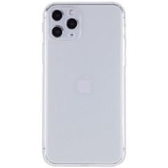 Чехол cиликоновый Getman iPhone 11 Pro Max (прозрачный)