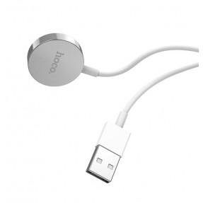 Беспроводная зарядка Hoco CW16 iWatch (White)