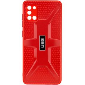 Чехол TPU+PC UAG Samsung Galaxy A31 (красный)